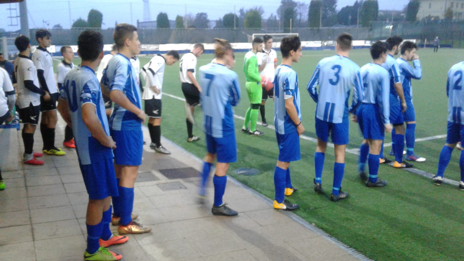 JUNIORES,  REGIONALE B:  VIBE RONCHESE- OLYMPIC MORBEGNO  1-1