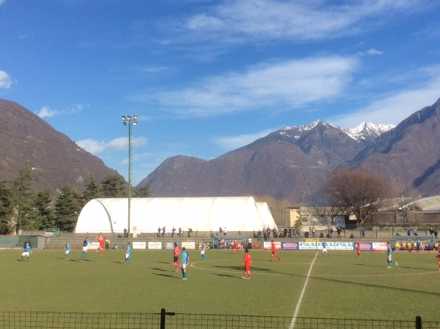 1° CATEGORIA: OLYMPIC MORBEGNO - CHIAVENNESE  2-2