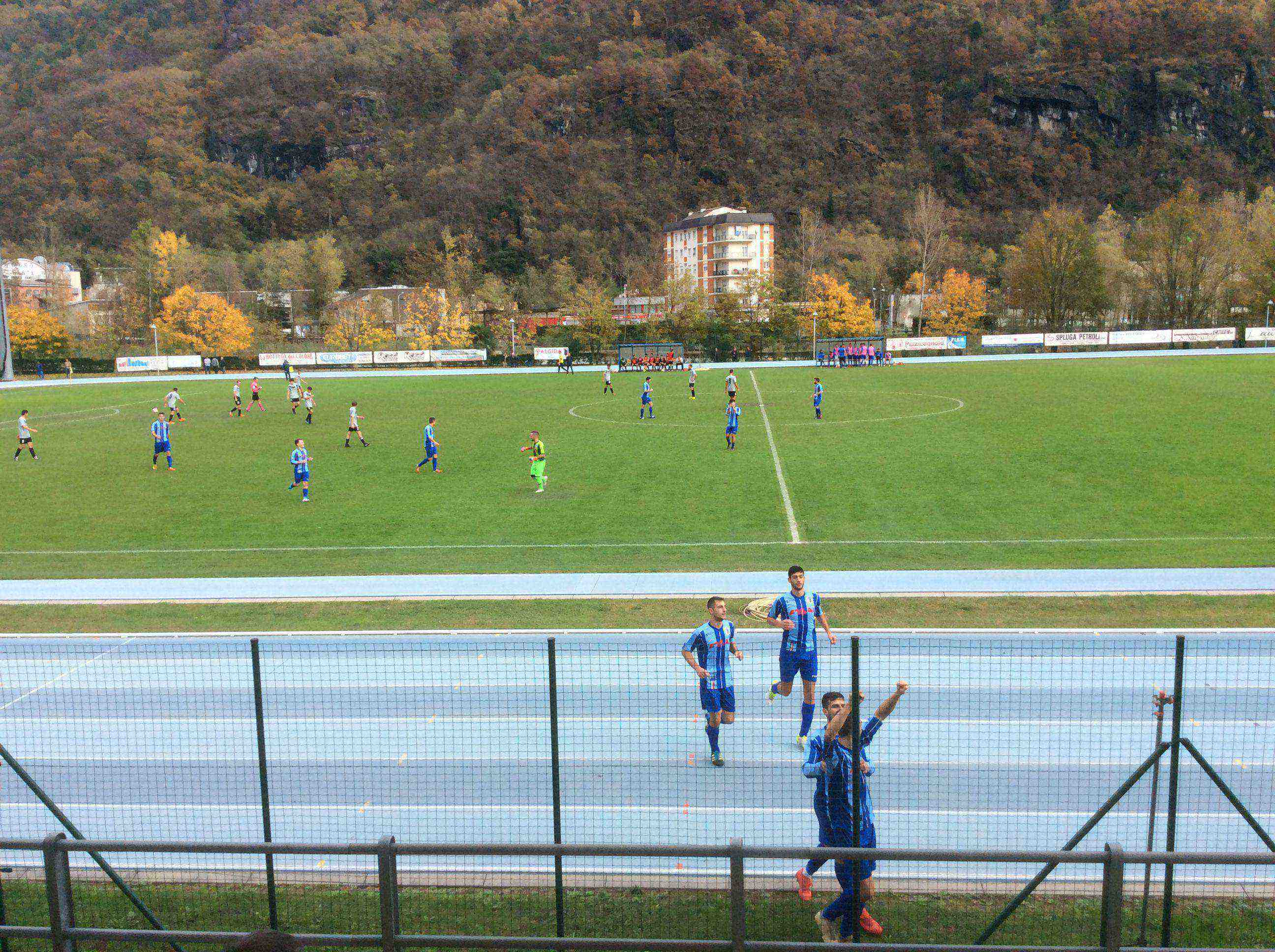 1° CATEGORIA: CHIAVENNESE- OLYMPIC MORBEGNO 3-3