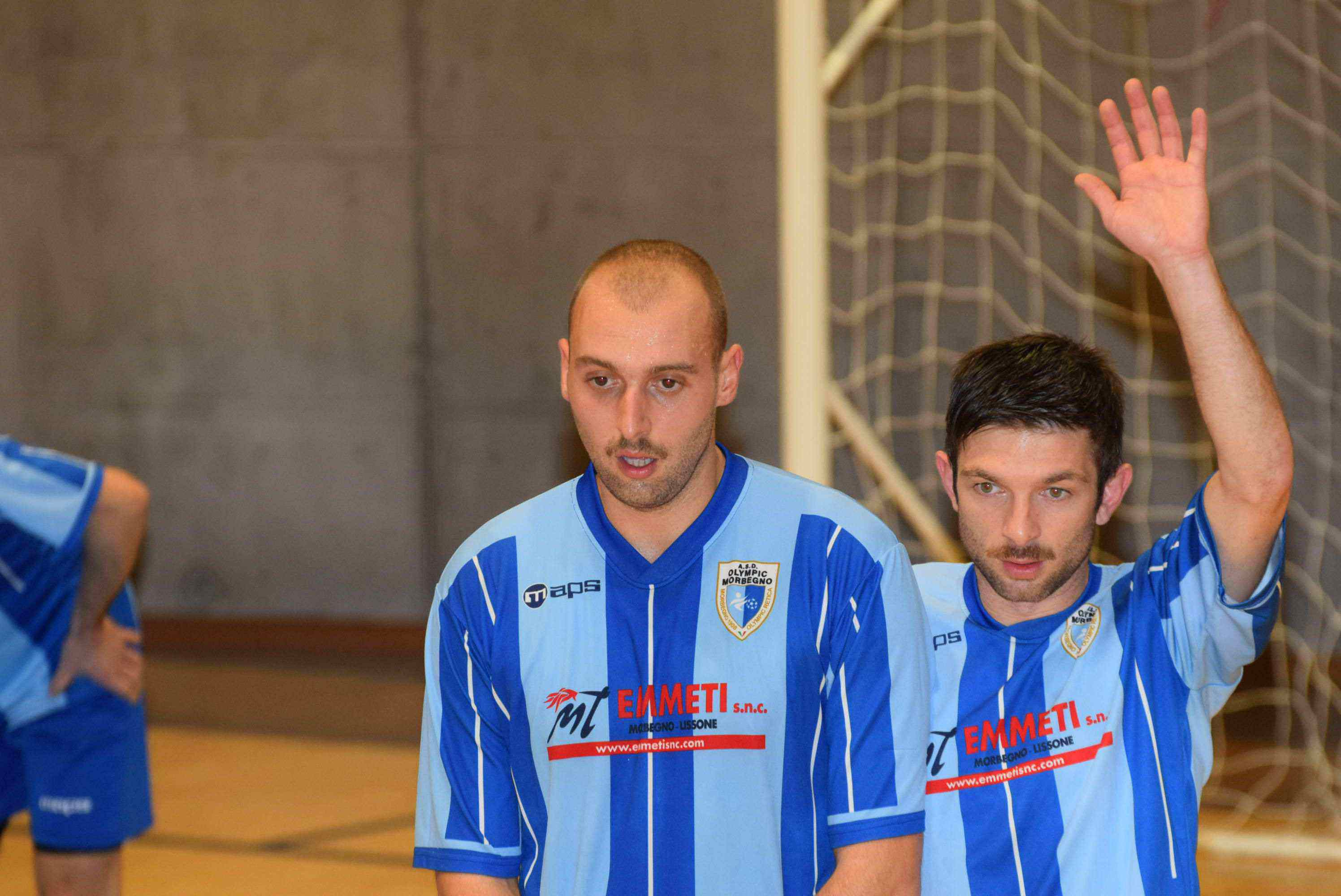 Calcio a 5 serie C1: Area Indoor-Olympic Morbegno 8-3 (pt 2-1)