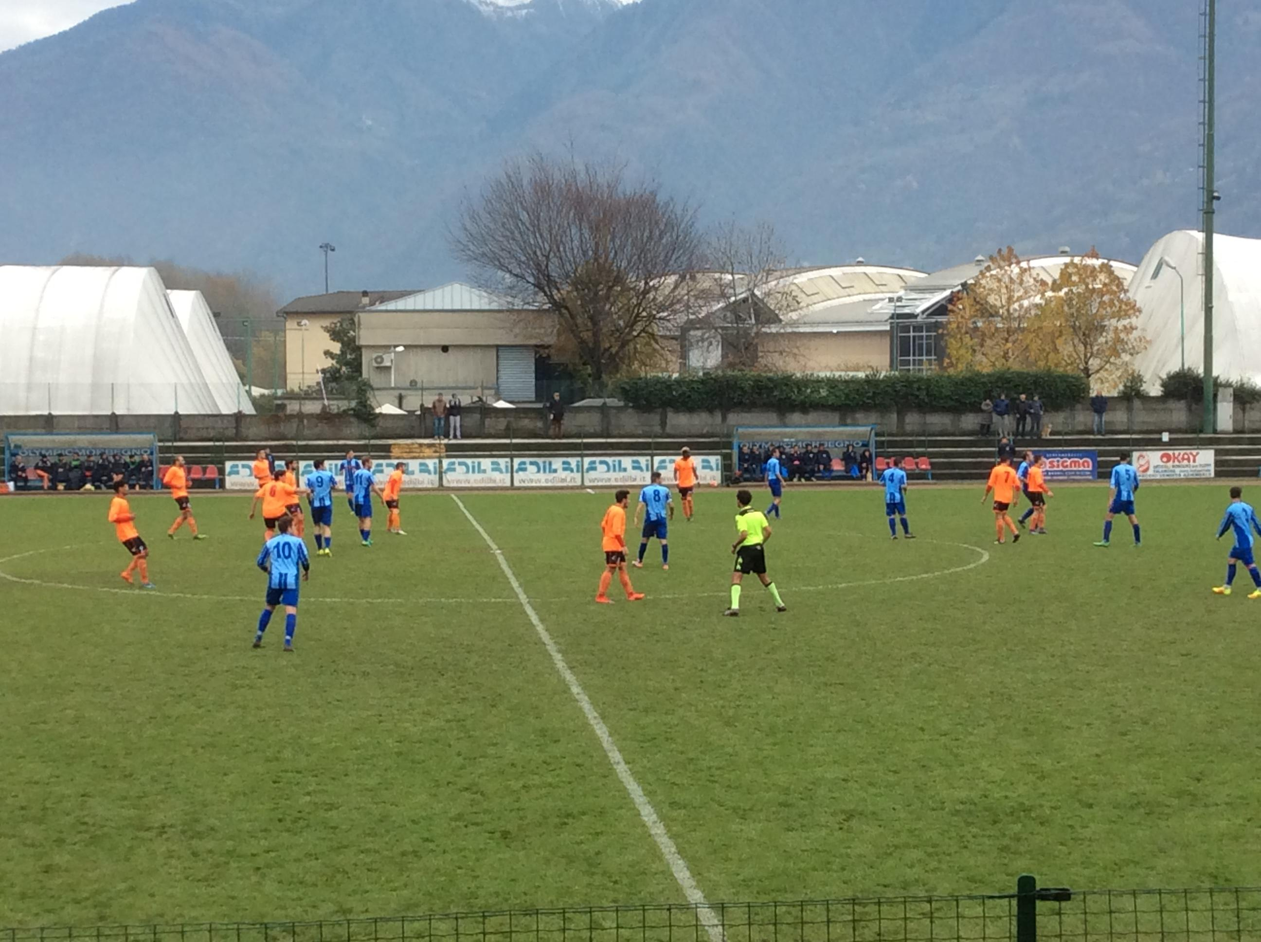 OLYMPIC MORBEGNO - PONTELAMBRESE 0-1